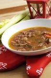 ιταλική σούπα φασολιών στοκ εικόνα με δικαίωμα ελεύθερης χρήσης