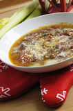 ιταλική σούπα φασολιών στοκ εικόνες με δικαίωμα ελεύθερης χρήσης