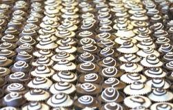 Ιταλική σπιτική σοκολάτα cupcakes Στοκ Εικόνες
