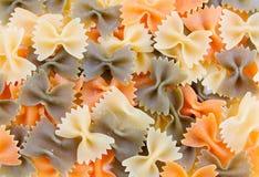 ιταλική σύσταση ζυμαρικών Στοκ Φωτογραφία