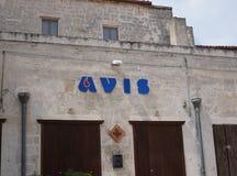 Ιταλική φιλανθρωπική οργάνωση Avis στοκ εικόνα