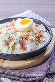 Ιταλική φωτογραφία κουζίνας του risotto Στοκ εικόνα με δικαίωμα ελεύθερης χρήσης