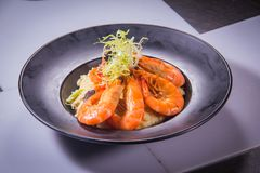 Ιταλική φωτογραφία κουζίνας του risotto Στοκ εικόνες με δικαίωμα ελεύθερης χρήσης