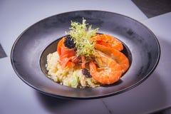 Ιταλική φωτογραφία κουζίνας του risotto Στοκ Εικόνες