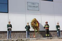 ιταλικοί αστυνομικοί Di finanza  Στοκ εικόνες με δικαίωμα ελεύθερης χρήσης