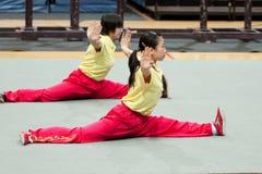 ιταλικός γύρος kung ηρώων fu το&upsi Στοκ Εικόνες