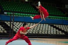 ιταλικός γύρος kung ηρώων fu το&upsi Στοκ Φωτογραφίες
