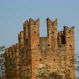 ιταλικός παλαιός κάστρων Στοκ εικόνες με δικαίωμα ελεύθερης χρήσης
