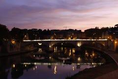 ιταλικός ποταμός tiber Στοκ φωτογραφίες με δικαίωμα ελεύθερης χρήσης