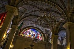 Ιταλικό ανώτατο όριο εκκλησιών στοκ φωτογραφίες