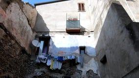 ιταλικό παλαιό χωριό απόθεμα βίντεο
