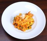 ιταλικό πιάτο ζυμαρικών Στοκ Φωτογραφίες