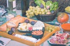 Ιταλικό πιάτο antipasti Στοκ φωτογραφία με δικαίωμα ελεύθερης χρήσης