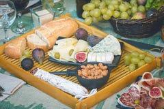 Ιταλικό πιάτο antipasti Στοκ εικόνα με δικαίωμα ελεύθερης χρήσης