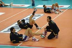 Ιταλικό πρωτάθλημα: Volley Trentino εναντίον Macerata Στοκ φωτογραφίες με δικαίωμα ελεύθερης χρήσης