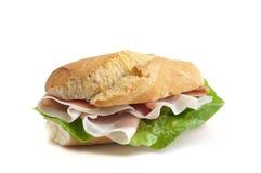 ιταλικό σάντουιτς ζαμπόν Στοκ εικόνες με δικαίωμα ελεύθερης χρήσης