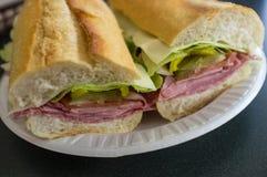 ιταλικό υποβρύχιο σάντουιτς Στοκ εικόνα με δικαίωμα ελεύθερης χρήσης
