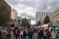 Ιταλικό φεστιβάλ της Νεβάδας Reno στοκ εικόνα