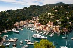 ιταλικό riviera portofino της Ιταλίας Λ& Στοκ εικόνα με δικαίωμα ελεύθερης χρήσης