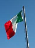ιταλικό tricolore σημαιών Στοκ Φωτογραφία