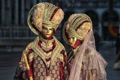 Ιταλία †«Venezia - μυστήριες μάσκες Στοκ Φωτογραφίες