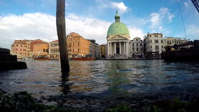 Ιταλία Βενετία Βάρκες μηχανών Seagul απόθεμα βίντεο