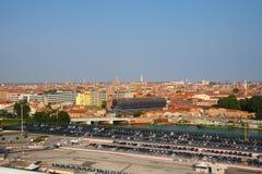 Ιταλία Βενετία Η άποψη της πόλης από το ύψος Στοκ εικόνα με δικαίωμα ελεύθερης χρήσης
