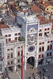 Ιταλία Βενετία - η κοιλάδα Orologio Torre - Clocktower του ST Mark Στοκ Φωτογραφία