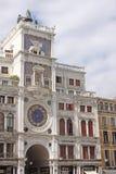 Ιταλία Βενετία - η κοιλάδα Orologio Torre - Clocktower του ST Mark Στοκ Εικόνα