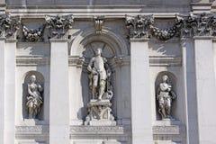 Ιταλία Βενετία Ο καθεδρικός ναός του χαιρετισμού della της Σάντα Μαρία λεπτομέρειες Στοκ Εικόνα