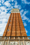 Ιταλία, Βενετία, πύργος, πλατεία SAN Marco Στοκ φωτογραφίες με δικαίωμα ελεύθερης χρήσης