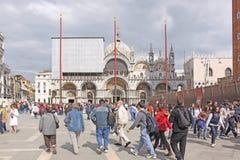 Ιταλία Βενετία Τετράγωνο SAN Marco και Doge παλάτι Στοκ φωτογραφία με δικαίωμα ελεύθερης χρήσης