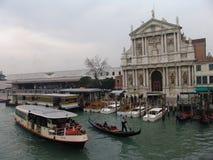 Ιταλία Βενετία Degli Scalzi εκκλησιών ή Di Ναζαρέτ της Σάντα Μαρία Στοκ φωτογραφίες με δικαίωμα ελεύθερης χρήσης