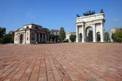 Ιταλία - Μιλάνο Στοκ φωτογραφία με δικαίωμα ελεύθερης χρήσης