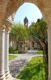 Ιταλία Νησί της Σικελίας Πόλη του Παλέρμου Το προαύλιο μοναστηριών (clo Στοκ φωτογραφίες με δικαίωμα ελεύθερης χρήσης