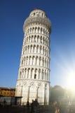Ιταλία Πίζα κλίνοντας πύργος της Πίζας Στοκ Εικόνες
