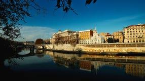 Ιταλία Ρώμη Άποψη από το ανάχωμα του καθεδρικού ναού του pe του ST Στοκ εικόνες με δικαίωμα ελεύθερης χρήσης
