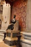 Ιταλία Ρώμη Βατικανό Άγαλμα χαλκού Αγίου Peter που κρατά το Κ Στοκ εικόνες με δικαίωμα ελεύθερης χρήσης