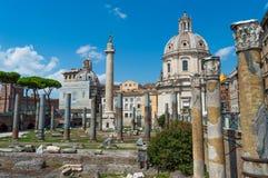 Ιταλία, Ρώμη, καταστροφές Στοκ Εικόνες