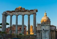 Ιταλία, Ρώμη, ρωμαϊκό φόρουμ Στοκ Φωτογραφίες