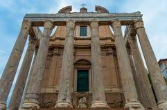 Ιταλία, Ρώμη, ρωμαϊκό φόρουμ Στοκ Εικόνες