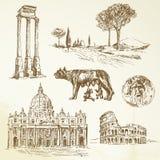 Ιταλία - Ρώμη διανυσματική απεικόνιση