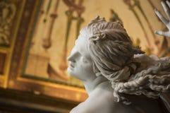 Ιταλία, Ρώμη, Galleria Borghese, ο βιασμός Proserpina από Bernini, λεπτομέρεια 3 Στοκ φωτογραφίες με δικαίωμα ελεύθερης χρήσης