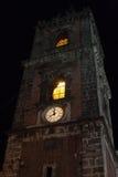Ιταλία Σικελία Άδρανο τή νύχτα Στοκ φωτογραφίες με δικαίωμα ελεύθερης χρήσης