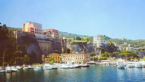 Ιταλία Σορέντο Στοκ εικόνα με δικαίωμα ελεύθερης χρήσης