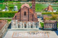Ιταλία στη μικρογραφία Στοκ εικόνα με δικαίωμα ελεύθερης χρήσης