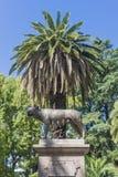 Ιταλία τετραγωνικό Plaza Ιταλία σε Mendoza, Αργεντινή Στοκ Εικόνα