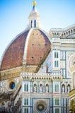Ιταλία, Τοσκάνη, Φλωρεντία Piazza del Duomo και καθεδρικός ναός Σάντα Μαρία del Fiore Στοκ φωτογραφία με δικαίωμα ελεύθερης χρήσης
