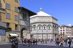 Ιταλία Φλωρεντία cathedral del fiore Μαρία santa Στοκ Εικόνες