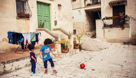 Ιταλία $matera στοκ φωτογραφία με δικαίωμα ελεύθερης χρήσης